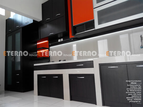 Desain Interior Kitchen Set Dapur