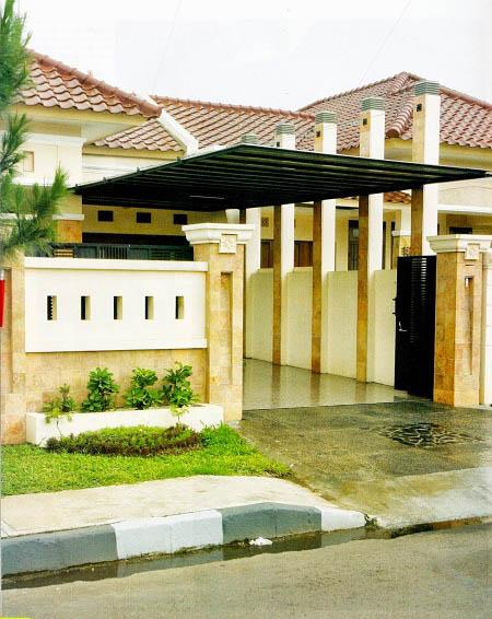 Pembuatan Atap Carport Canopy Rumah Minimalis