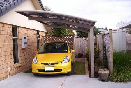 Model Atap Carport Canopy Rumah Minimalis