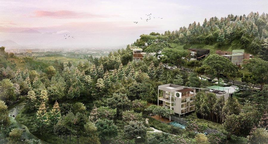 Pramestha Resort Town Villa Dago Lembang Bandung