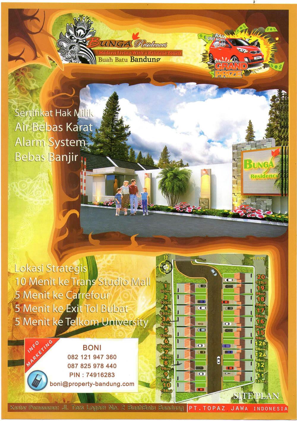 Perumahan Murah Bunga Residences Buah Batu Bandung