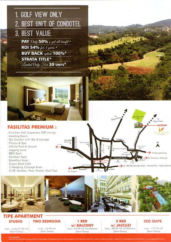 Clove Garden Kondotel Apartemen Dago Bandung