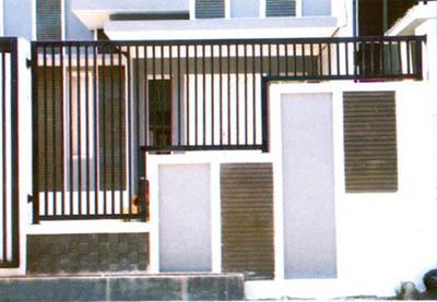 Desain Pagar Rumah Minimalis Modern 6 Property Bandung