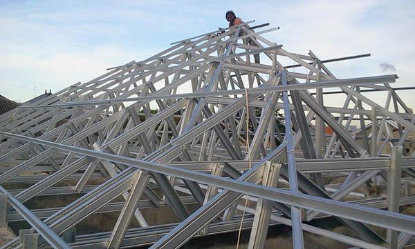 Jasa Pembuatan Rangka Atap baja Ringan Bandung Cimahi Padalarang