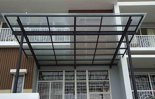 Kanopi Kaca Rumah Minimalis Bandung