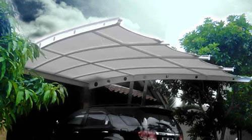 Kanopi Membrane Rumah Minimalis Bandung