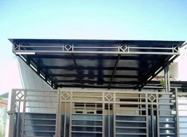 Jasa Pembuatan Kanopi Canopy Minimalis Modern Bandung