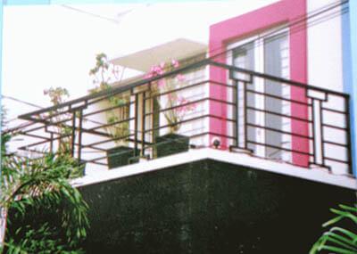 Pembuatan Model Railing Balkon Minimalis Modern