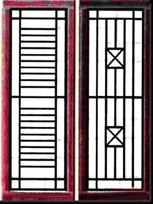 Teralis Tralis Jendela Modern Minimalis