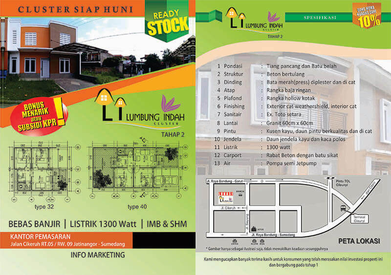 Jual Rumah di Jatinanggor Cluster Lumbung Indah Cikeruh