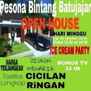 Open House Pesona Bintang Batujajar