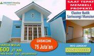 Hunian Cluster Di Cimahi Bandung Butik Sariwangi Mansion