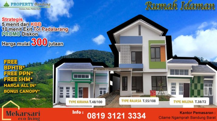 Rumah Mursidah Meriah Area Bandung Barat Bararade Bararade ?