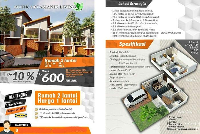 Butik Arcamanik Living Bandung