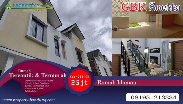 Hunian 2 Lantai GBK Soetta Bandung