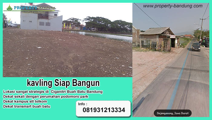 Kavling Strategis Buah Batu Bandung