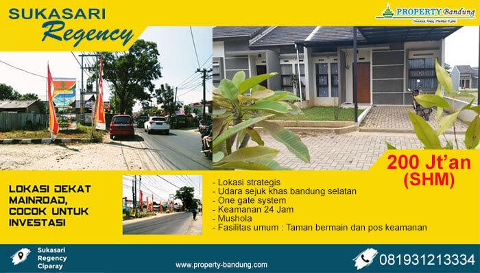Perumahan Sukasari Regency Bandung Selatan