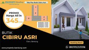 Rumah Murah di kawasan Bandung timur Butik Cibiru Asri