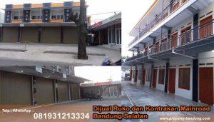 Dijual Ruko dan Kontrakan Mainroad Bandung Selatan