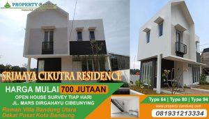 Rumah 2 Lantai di Bandung Utara