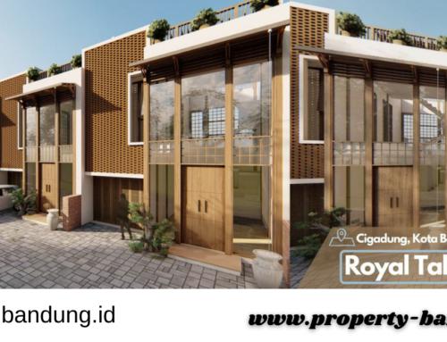 Rumah 2 Lantai Full Rooftop di Kota Bandung Cluster Elite Royal Takayama