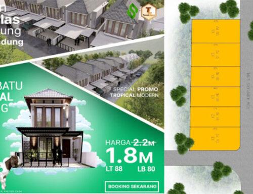 Rumah Mewah di Jantung Kota Bandung Buah Batu Central Living