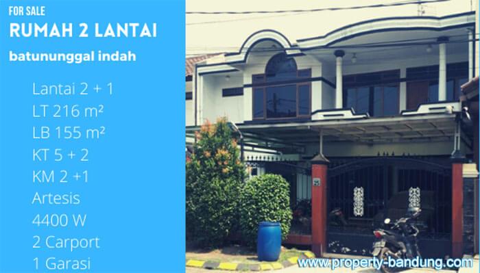 Dijual Rumah Mewah 2 Lantai Batununggal Indah Bandung
